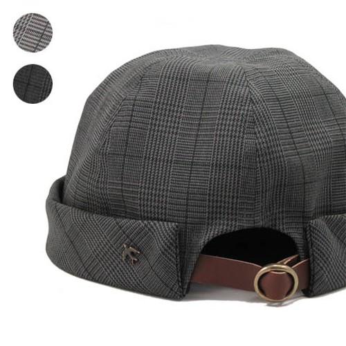 Glen Check Fishermans Cap【sleepslope】