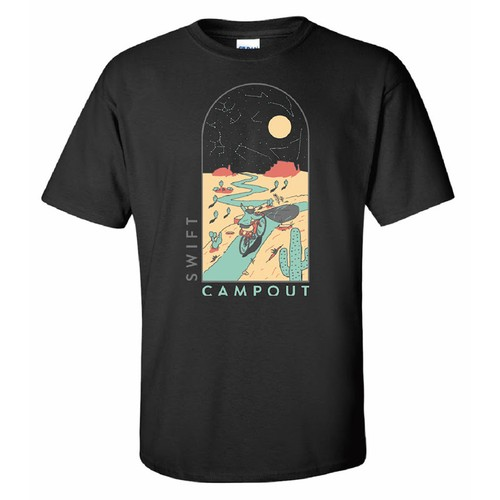 SWIFT CAMPOUT 2020 T-SHIRT SWIFT INDUSTRIES