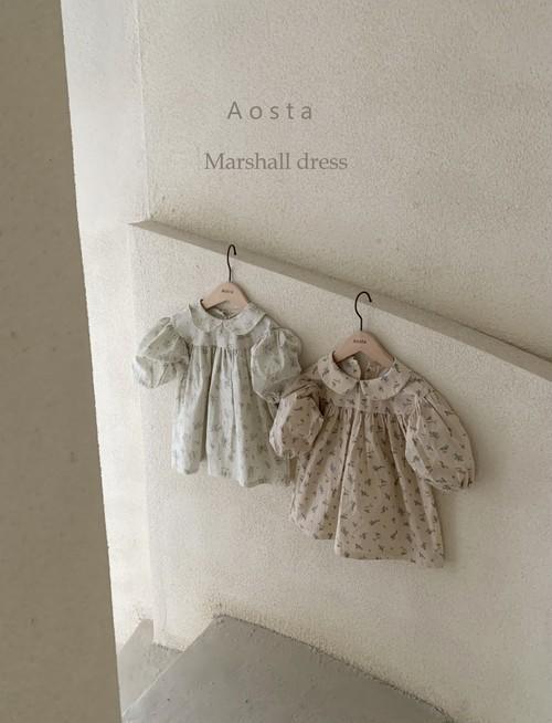 【予約販売】Marcel dress〈Aosta〉