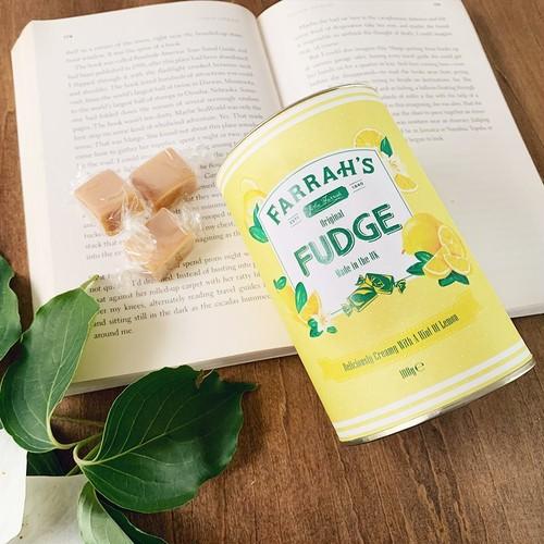 Farrah's オリジナル・レモン・ファッジ(筒) 100g
