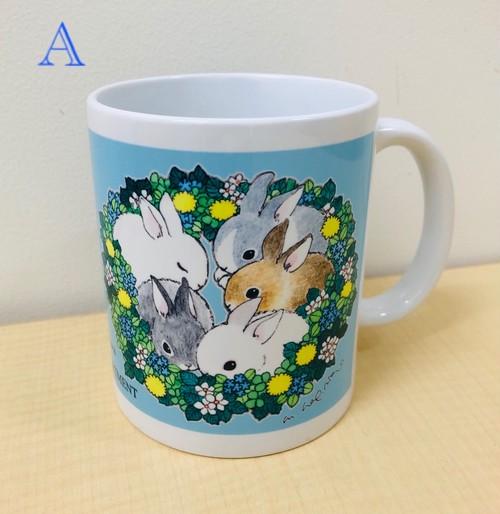 萩岩睦美イラストマグカップ