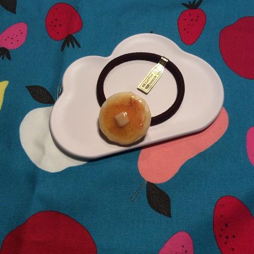 【meronpangamer?】 パンケーキ ヘアゴム <1枚>