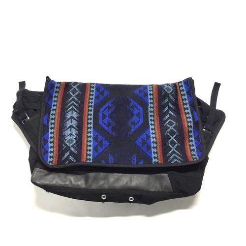 メッセンジャーバッグ Vintage Messenger Bag blue  【messenger09】