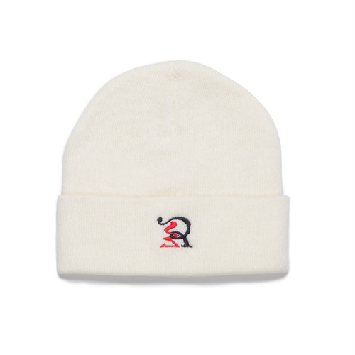 RUEED LOGO KNIT WATCH CAP / WHITE