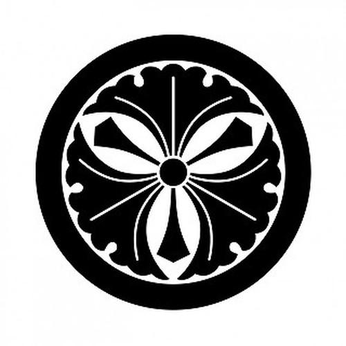 丸に剣三つ銀杏 aiデータ
