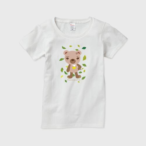 もんクマ レディースTシャツ(W)