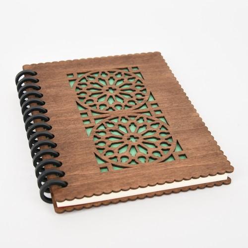 木のノートブックE カテドラル(木製ルーズリーフ)