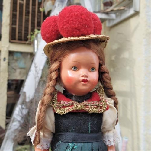 #エア蚤の市 民族衣装のお人形⑤