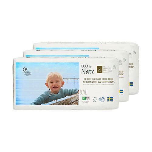 [バリューパック]  Naty by Nature Babycare 紙おむつパンツ(サイズ 4~5)