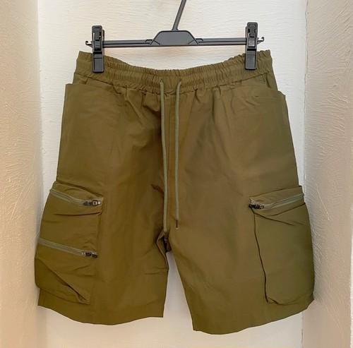 Teflon 60/40 Cross Gardening Tool Pocket Cargo Shorts Olive