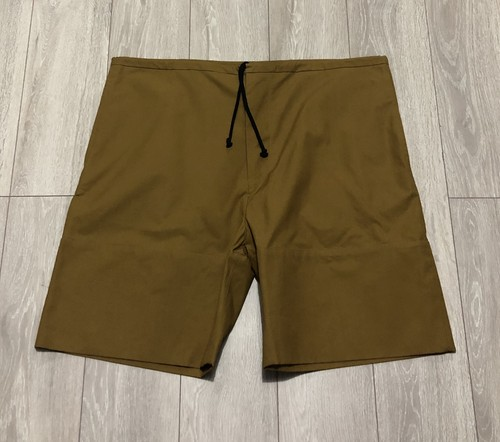 PHOEBE ENGLISH DRY WAXED COTTON SHORTS