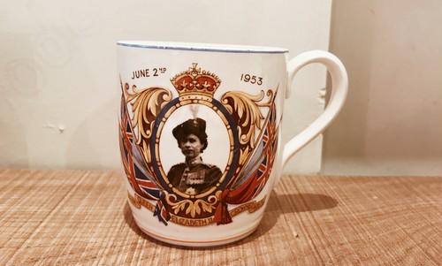 Violet And Claire - vintage mugcup