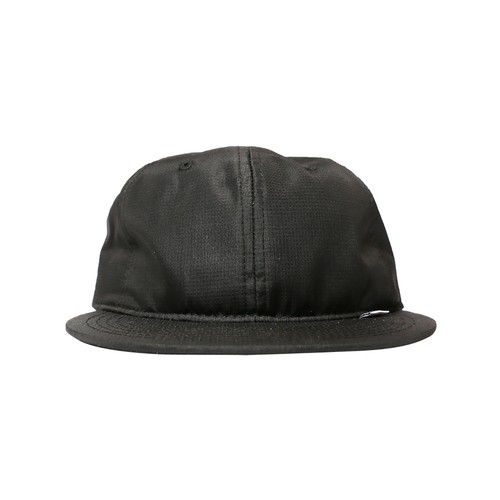 WHIMSY(ウィムジー) / NYLON RIPSTOP CLUB HAT  -BLACK-