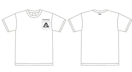 """Harmony & Speed 2 you""pocket T-shirt ホワイト"