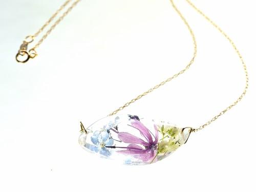 山野草 森の花のペンダント(スプリングエフェメラル・忘れな草)・14kgf