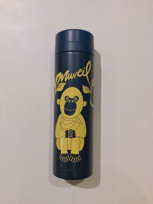 MUVEIL monkyプリントマグボトル (navy)
