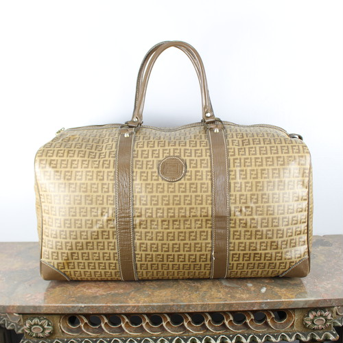 .FENDI ZUCCA PATTERNED BOSTON BAG MADE IN ITALY/フェンディズッカ柄ボストンバッグ 2000000043715