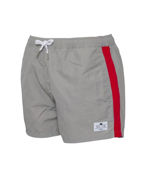 SUNS MULTI COLOR SIDE LINE SWIM SHORTS[RSW025]