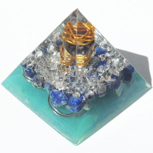 プレミアム ピラミッド クリスタルブルー(ラピスラズリ)