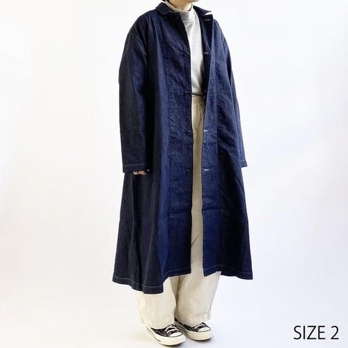 【HARVESTY】OVER COAT (UNISEX) ハーベスティ オーバーコート ユニセックス