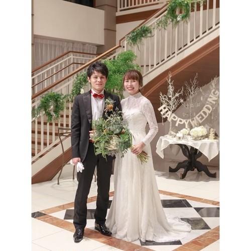 Confetti\ Bride♡シナモン・お背中アレンジ