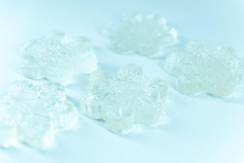 雪の結晶 シリコンモールド