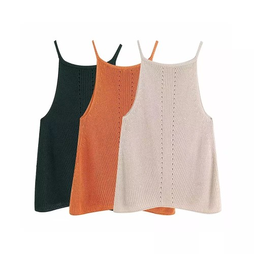 【FlamingoBeach】knit camisole  ニット 60122