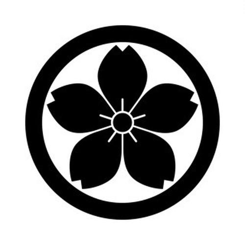 丸に山桜 aiデータ
