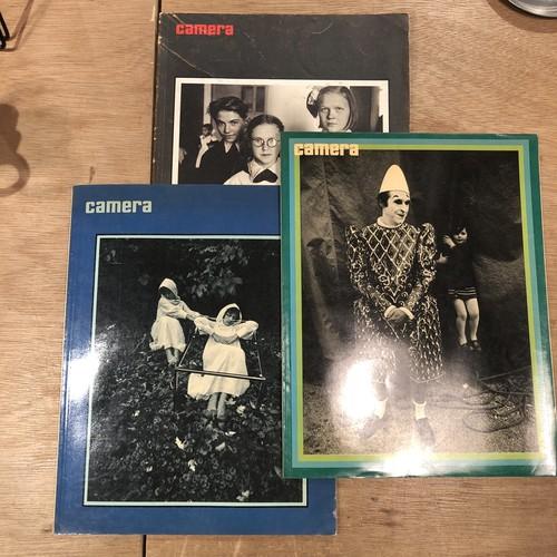 camera English edition: May 1975 No.5 / August 1974 No.8 / July 1973 No.7