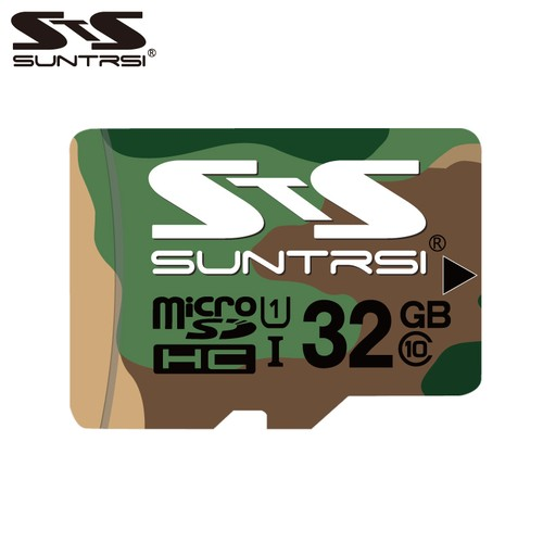 suntrsi microSDHCカード 迷彩 32GB Class10 UHS-I U1 60MB/s