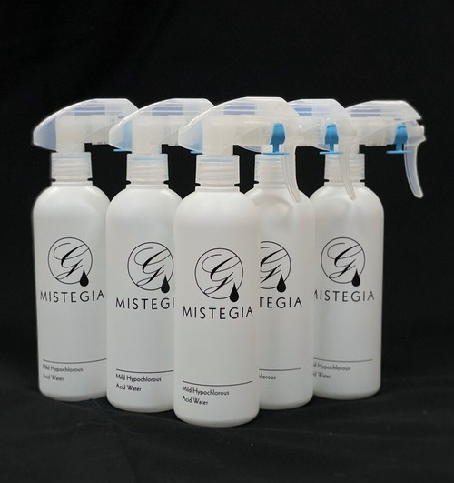 MISTEGIA【弱酸性次亜塩素酸水溶液】(5本セット)