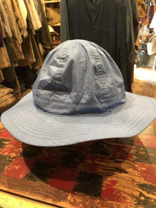 「BRACKETS」 remake hat using vintage American fabric