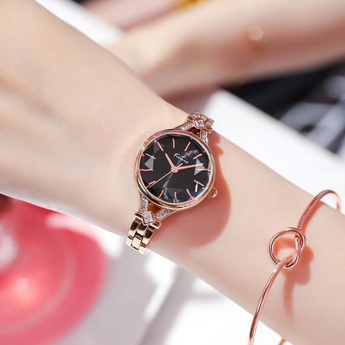 Kimio AF-6325(Black) レディース腕時計