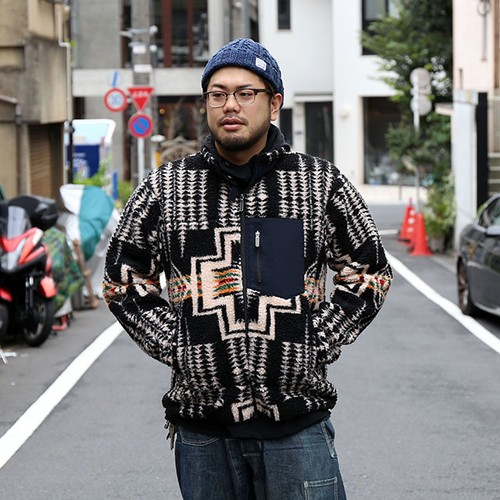 PENDLETON/ペンドルトン Big Pile Jacket BK [MN-8475-3170]