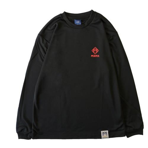 マッドロック / CAGE ロゴ ロンT / ドライタイプ / ブラック