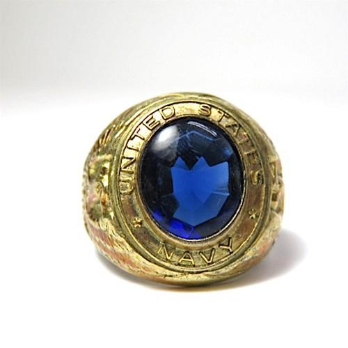U.S.NAVY Vintage Gold Ring