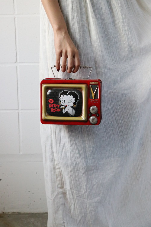 90's Betty Boop TV can bag