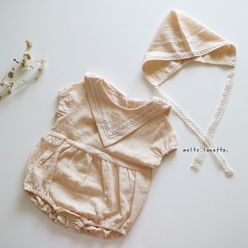 bonnet triangle rompers