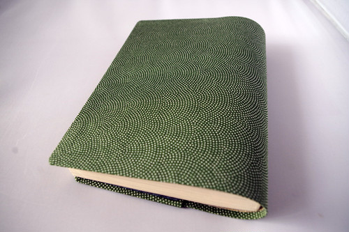 文庫本セパレート式ブックカバー(江戸小紋)hb051