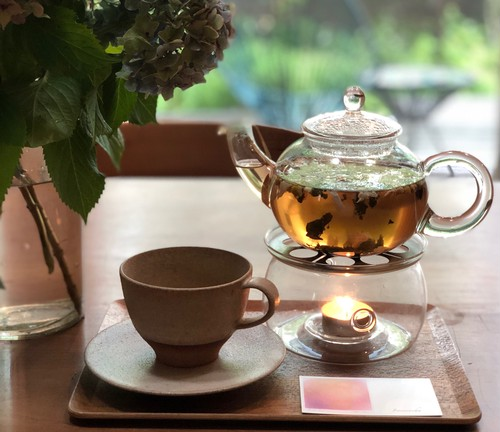 【茶器】すぐに楽しめるティーポット+ウォーマーセット