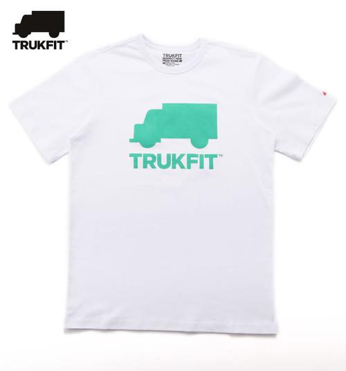 TRUKFIT PRINT T-SHIRTS【WHITE】【Truk Logo】