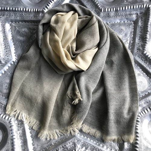3colors Wool Stole