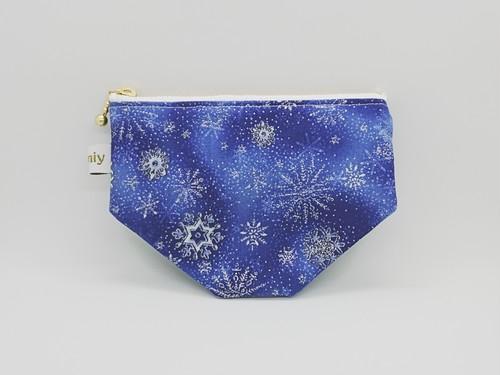 ミニポーチ♪雪の結晶