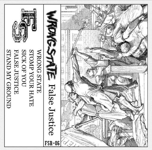 "1st demo ""False Justice"" tape"
