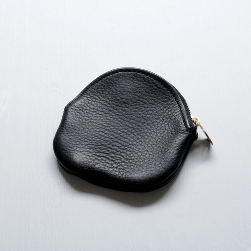 egg coin case (black)