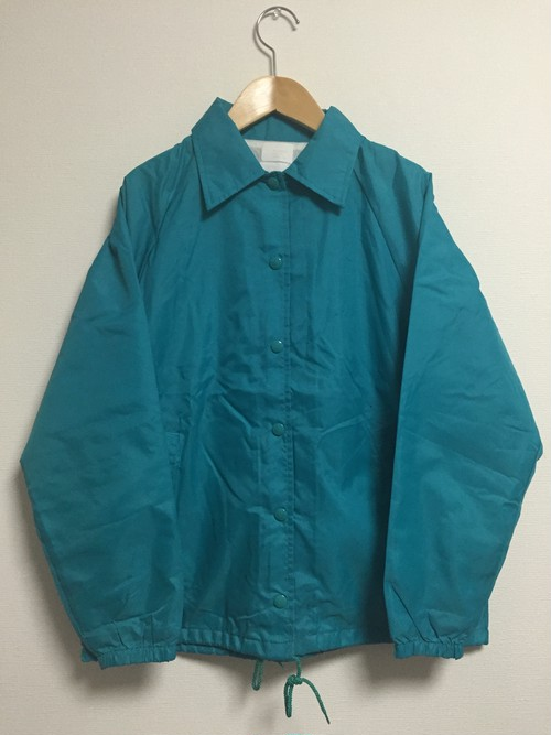 90's Eco-emerald green coach jacket