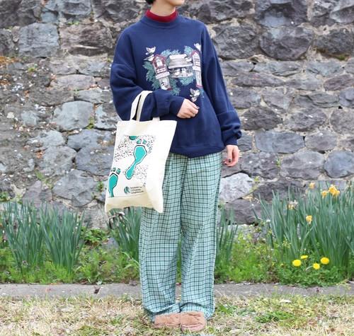 USA VINTAGE CHECK PATTERNED PAJAMA PANTS/アメリカ古着チェック柄パジャマパンツ
