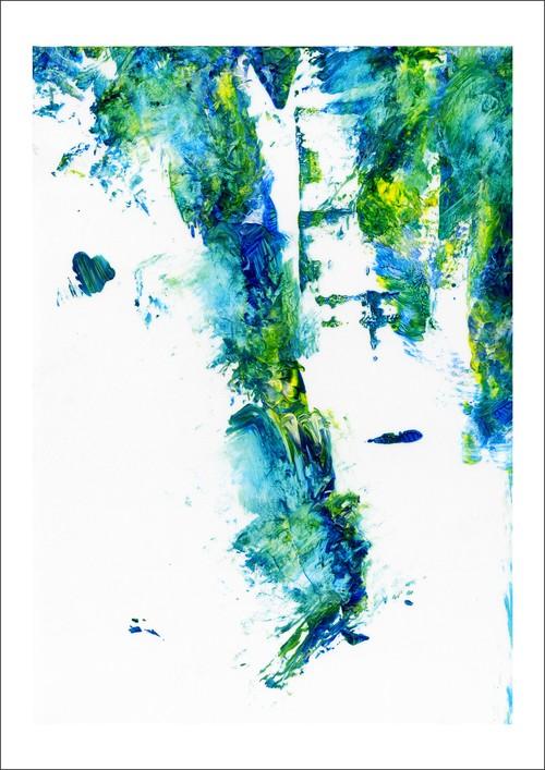 アート・インクジェットプリント(42.0cm×59.4cm) -The Mental Core-