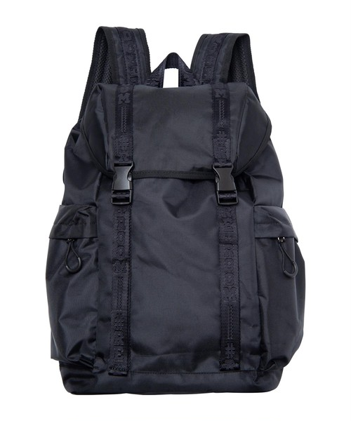 LOGO TAPE FLAP BACKPACK[REB032]