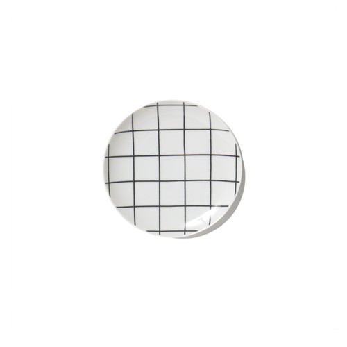 "Swimsuit Department ""Grid"" Bread Plate"